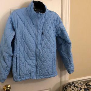 Columbia vertex women's blue puffer jacket-XL